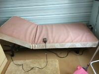 Adjustable Electric Single Bed - FREE!