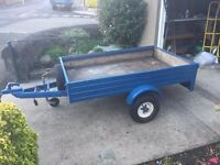 Metal Trailer Approx 6ft by 4ft
