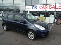 49K MILES!! 2009 09 NISSAN NOTE 1.6 ACENTA 5d 110 BHP **** GUARANTEED FINANCE **** PART EX WELCOME