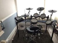 Roland TD-12 Electric Drum Kit - including Monitor, Amplifier & Chair