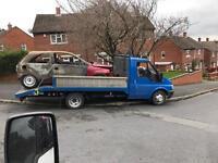 Scrap cars vans 4x4 wanted £50 plus ££. 07794523511