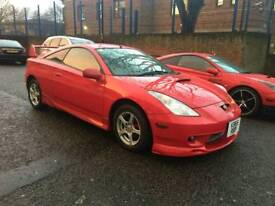 TOYOTA CELICA JAPANESE IMPORT, VERY LOW MILEAGE 65000