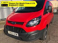 Ford Transit Custom 290 L2H1 - 125 BHP, Direct From Company, S History, 1YR MOT, 6 Months Warranty