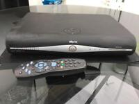 Sky HD plus box complete with remote