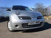 57 NISSAN MICRA INITA 1.2,MOT MARCH 019,2 OWNER FROM NEW,2 KEYS,PART HISTORY,VERY LOW MILEAGE CAR