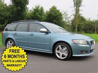 2009 VOLVO V50 2.0 DIESEL ** AUTOMATIC ** R-DESIGN EDITION** SUPERB PRACTICAL ESTATE **