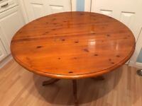 Dining table with x3 chairs