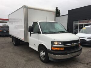 2017 Chevrolet Express 3500 GMC 16'CUBE FIN OR LEASE FROM 4.99%O