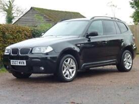 BMW X3 2.0 D M SPORT 5d 148 BHP (black) 2007