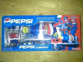 Limited Edition Pepsi Optimus Prime *Japanese and Rare*