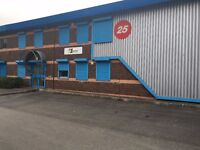 Factory/Trade Counter with above average office space to let in Port Talbot - 6000sq ft total