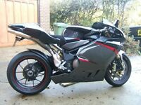 MV Agusta F4 1000R 3200miles mint condition