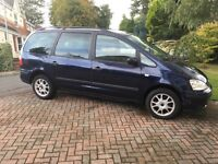 Ford Galaxy for sale £600.00 Needs MOT. Some service history .