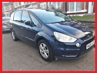 7 Seater AUTO - 2009 Ford S Max Automatic TDCi Zetec -- 89800 Miles -PX -alike ford galaxy vw sharan