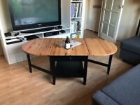 Ikea Arkelstrop Folding Coffee Table in Excellent Condition