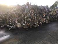 Hardwood firewood logs