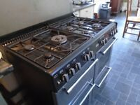 Belling dual fuel range cooker