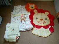 Baby/toddler bedroom set