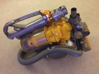 Dyson DC11 Telescope All Floors Cylinder Vacuum Cleaner Silver/Yellow