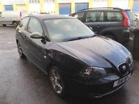 2005 seat Ibiza 1.9 tdi FR 12 months mot/3 months parts and labour warranty