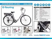 E-Touring city electric bicycle