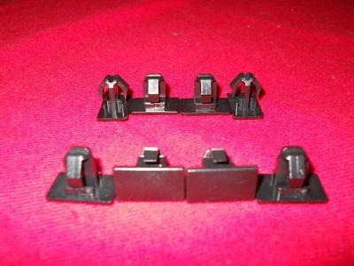 DODGE Charger Magnum CHRYSLER 300 BLACK Rocker Panel Clip Set of 8 NEW OEM MOPAR