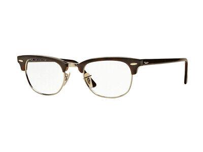 Ray-Ban Eine brille RX5154 CLUBMASTER 2372 havana Quadratische unisex