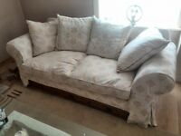 2 Three seater settee's for sale.£125 for both Open To Offers
