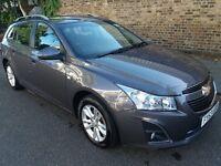 Chevrolet Cruze Grey Estate 63 Plate (2013) 1.8 LT 5d Auto Car For Sale £3500