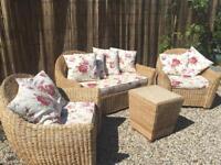 Conservatory furniture sofa set