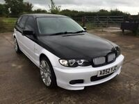 2003 BMW 3 Series e46 318i touring - 2.0L Estate Petrol Modified Leather White Van