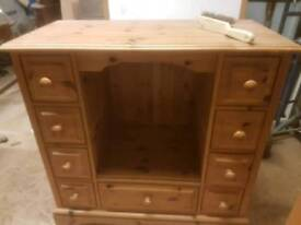 Solid Pine Matching Cabinets