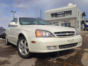 2006 Chevrolet Epica LTZ / LEATHER / ROOF / LOADED / ALLOYS