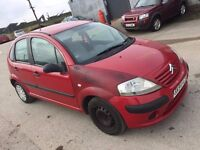 2004 CITREON C3 1.2 ASPIRATED 5 DOOR HATCHBACK RED