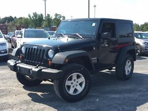 2010 Jeep Wrangler MOUNTAIN Trailrated 4X4 ($79 WKLY. 2 Doors, m Gatineau Ottawa / Gatineau Area image 1