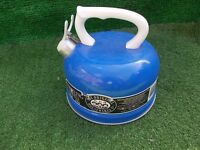 whistling camping fishing stove top kettle in great condition