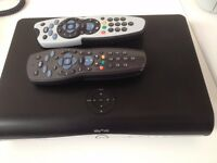 Sky+ HD Box and 2 x remotes
