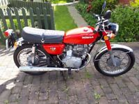 HONDA CB 175 -Vintage Motorbike in Immaculate Condition