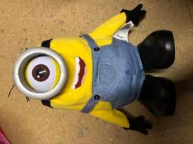 Minion roll over toy