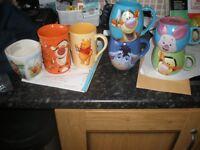 Disney Winnie the pooh & friends mugs