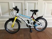 Frog 48 bike in team sky. Near new condition with never used spare off road tyres