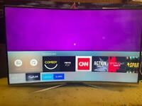 "Samsung 49"" curved smart 4k UltraHD wifi Apps Netflix"