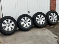 "VW 16"" Alloy Wheels T5"