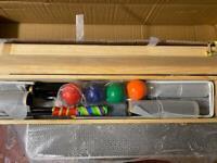 Royal York Croquet Set - brand new