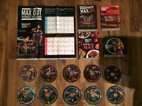 Beachbody insanity Max:30 fitness discs complete set