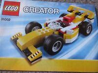 LEGO -Creator 31002 Super Racer 3 in 1
