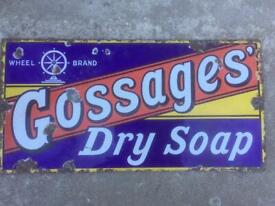 Antique Soap AdvertisingSign - Very Rare