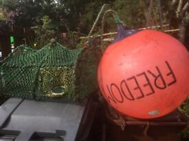 Crab/Lobster Creel and Buoy
