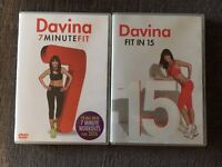 Fitness DVD's Davina, Josie Gibson and Jillian Michaels