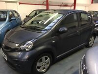 Immaculate 5 door Toyota Aygo 1.0 sport Petrol cheap to run and insure only 60000 Miles 1year mot